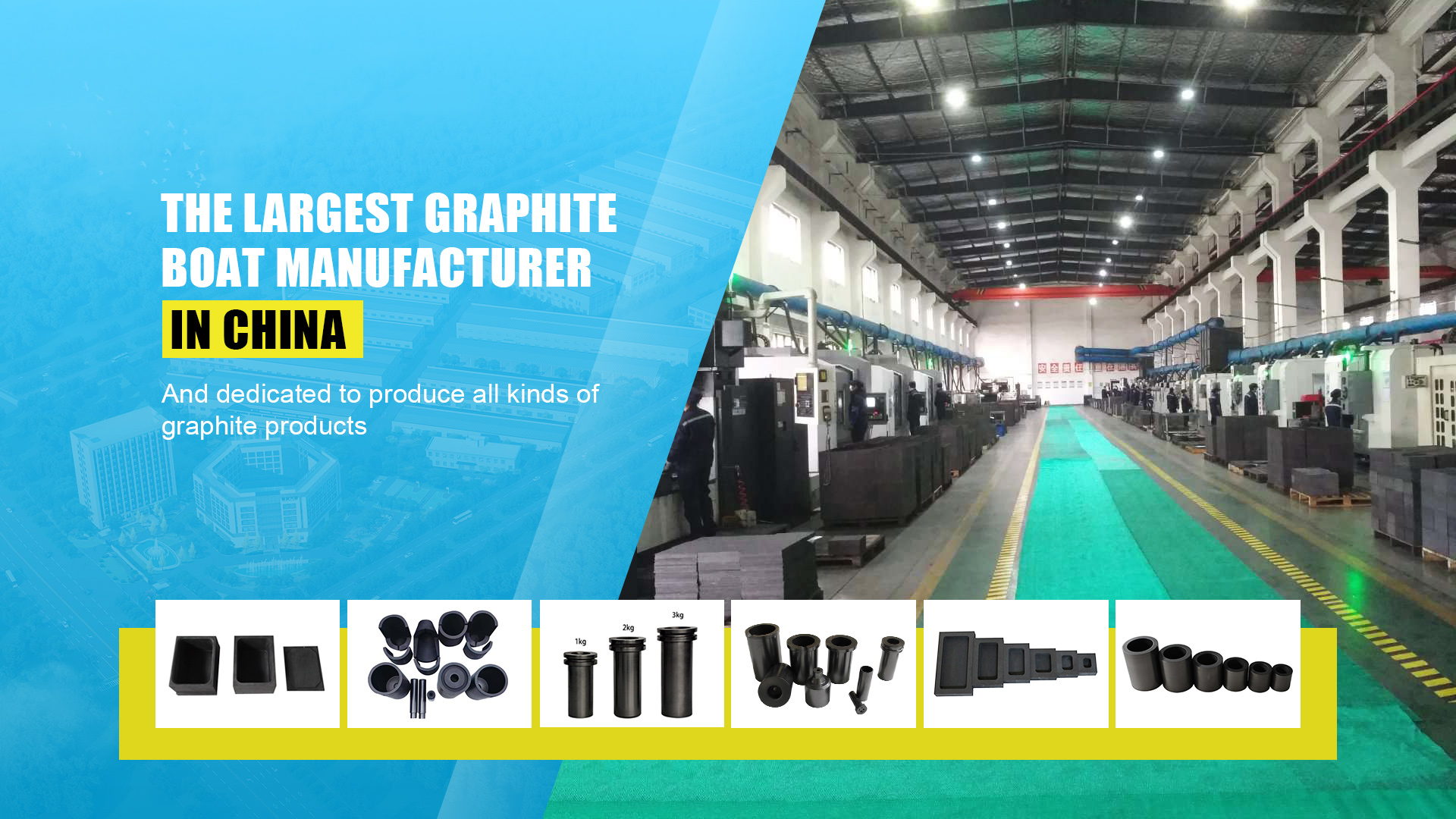 Qualified manufacturer for graphite material and graphite products