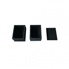 graphite sintered products for hard alloy and powder metallurgy