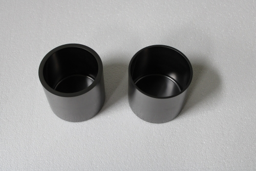 Graphite crucible for vacuum aluminium evaporation
